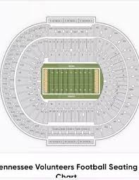 Tennessee Volunteers Football Seating Chart 4 Tickets Y10 Row 50 Tennessee Volunteers Vols Vs Missouri