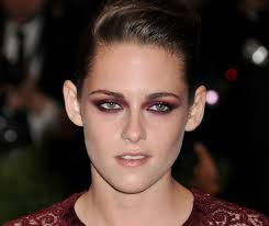 kristen stewart red eye makeup met gala