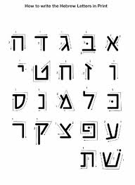 Learn The Aleph Bet Brodetsky Primary School