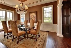 dining room colors brown. Contemporary Formal Dining Room Colors Rooms From The Ad Archives - Brown D