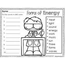 Types Of Energy Worksheet. Forms Of Energy Foldable Bing Images ...