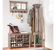 Image Storage Bench Livingston Entryway Collection Pottery Barn Entryway Coat Rack Pottery Barn