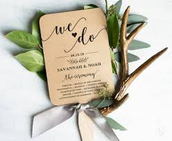 Wedding Program Fans Cheap Diy Wedding Program Fans Emmaline Bride Wedding Blog