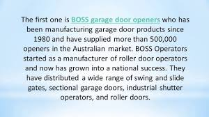 Most Iconic Garage Door Opener Brands Offered By AGG Doors - YouTube