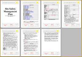 sample safety plan 6 construction safety plan word document fabtemplatez
