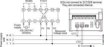kw1m eco power meter dimensions automation controls industrial single phase three wire three phase three wire system two current transformers are required