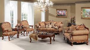 Madeleine Luxury Living Room Sofa Set Traditional Living Room