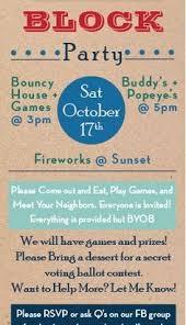 Neighborhood Party Invitation Wording Block Party Invitation Wording Lscign