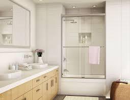 binser glass semi frameless sliding shower door