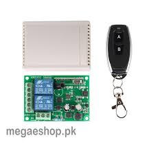 220V RF 433Mhz 2 Channel 2ch Wireless Remote Control Switch Module