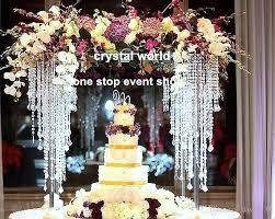 whole elegant wedding decoration centerpieces crystal beads table decoration centerpieces for event decoration crystal chandelier for centerpieces table