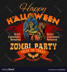 Halloween Party Flyer Halloween Party Flyer With Of Female Royalty Free Vector 22