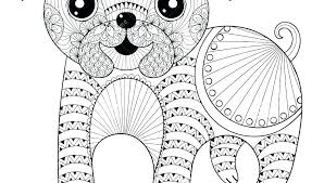 Pug Coloring Pages Printable Pug Coloring Pages For Adults The Angle