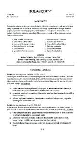 Social Work Resume Sample New Social Work Resume Sample Swarnimabharathorg
