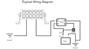 light bar wiring diagram wiring all about wiring diagram what is the purpose of a relay on lights at Wiring A Relay For Lights