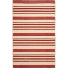 striped indoor outdoor rug courtyard beige red 5 ft x 8 ft indoor outdoor area rug striped indoor outdoor rug
