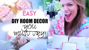 easy diy room decorations inspired by tumblr youtube