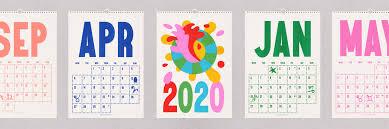 2020 Calendar A3 Wall Hanger