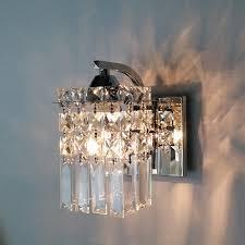 modern bedroom wall lamps. led crystal wall lamp modern bedroom bedside creative living lights lamps o