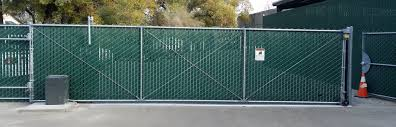 chain link fence double gate. Chain Link Driveway Gates Fence Double Gate