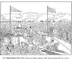 Small Picture Art Classes Coloring Pages