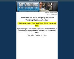 Vending Machine Business Profits Cool How To Start A Vending Machine Business My Vending Secret