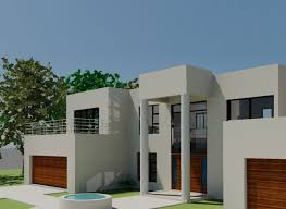 double y house plan south african