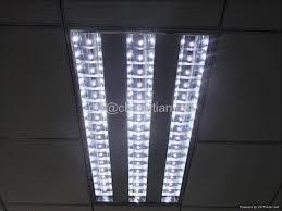 48w led grid light recessed light ceiling light office lighting 1