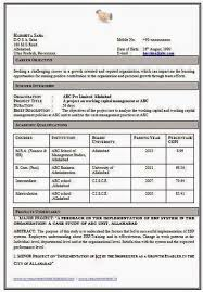 Resume Templates Home current stunning resume format for mba hr fresher pdf  resume format for