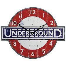 lascelles london underground wall clock