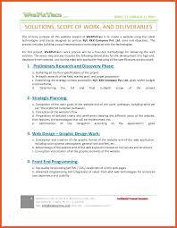 Software Development Statement Of Work Template Breakdown Structure ...