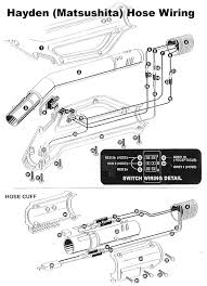 technical information on hayden super pack deluxe central vacuum hose wiring · or print
