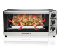 hamilton beach c slice convection toaster oven stainless