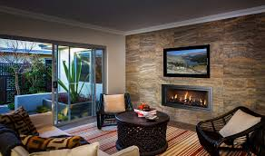 34 Modern Fireplace Designs With Glass For The Contemporary HomeGas Fireplace Ideas