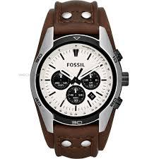 men s fossil coachman chronograph cuff watch ch2890 watch shop mens fossil coachman chronograph cuff watch ch2890