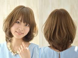 脱老け顔40代女性に似合うあか抜けミディアムヘア ヘアスタイル
