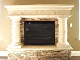 fireplace mantel shelves white