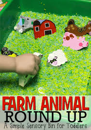 teach your toddler the names and sounds of farm animals with a fun farm animal round