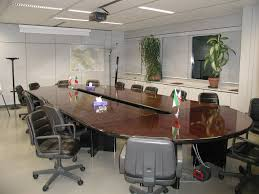 furniture: Comfortable Conference Room Tables And Chairs Office ...
