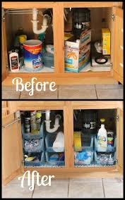 80 Small Apartment Kitchen Decorating Ideas. Under the sink cabinet  organization - An often overlooked place, but organize it and you