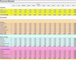 Budget Samples Household Excel Spreadsheet Budget Template Imagemaker Club