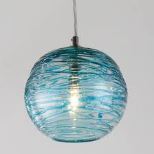 turquoise pendant lighting. swirling glass globe mini pendant light turquoise lighting d
