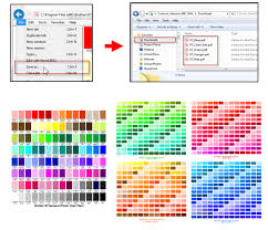Working With Artwork Print Color Chart