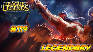League Of Legends - Gameplay - Olaf ...