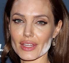 look good bad angelina jolie makeup fail the worst celebrity makeup fails