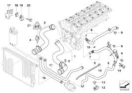 com online bmw parts catalog cooling system water hoses