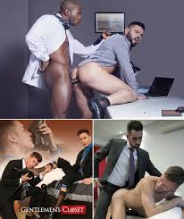 Gay porn suits on hole