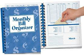 Monthly Bill Organizer Book Amazon Com Walterdrake Monthly Bill Organizer Personal