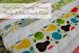 How One Sewing Novice Made A Modern Patchwork Quilt | Young House Love & how-to-make-an-easy-patchwork-quilt Adamdwight.com