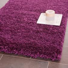 safavieh power loomed purple plush area rugs